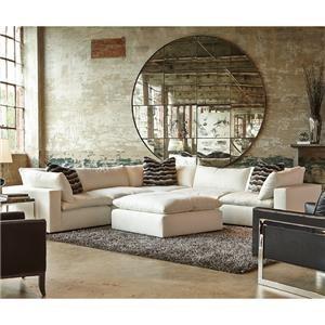 Huntington House Xavier Sectional Sofa Group