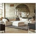 Huntington House Xavier Sectional Sofa Group - Item Number: 7256-61349-89-Group 1