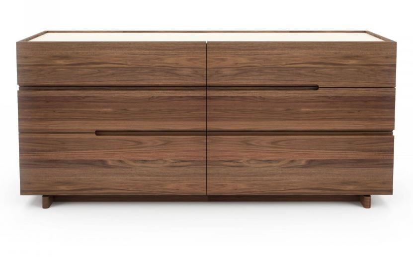 Nelson 6 Drawer Dresser by Huppe at C. S. Wo & Sons Hawaii