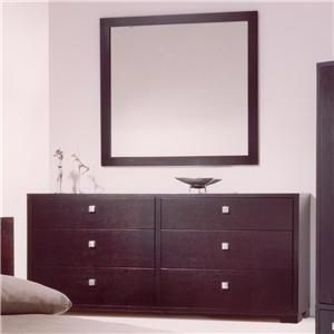 Huppe Zen Dresser and Mirror Set