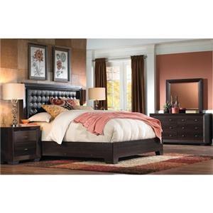 IdeaItalia Arketipo King Bedroom Set Caramel