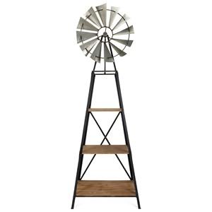 IMAX Worldwide Home Accent Furniture Windmill Bookshelf