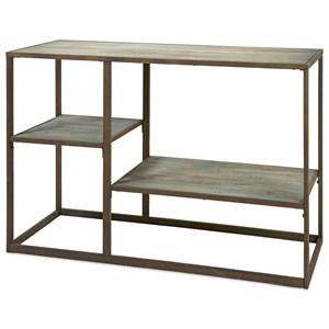 Jestlin Wood and Iron Shelf