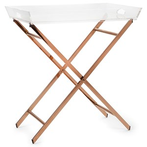 IMAX Worldwide Home Accent Tables and Cabinets Clinton Acrylic Tray Table