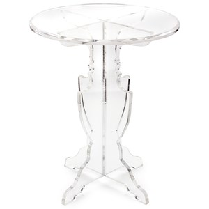 IMAX Worldwide Home Accent Tables and Cabinets Prestige Acrylic Accent Table
