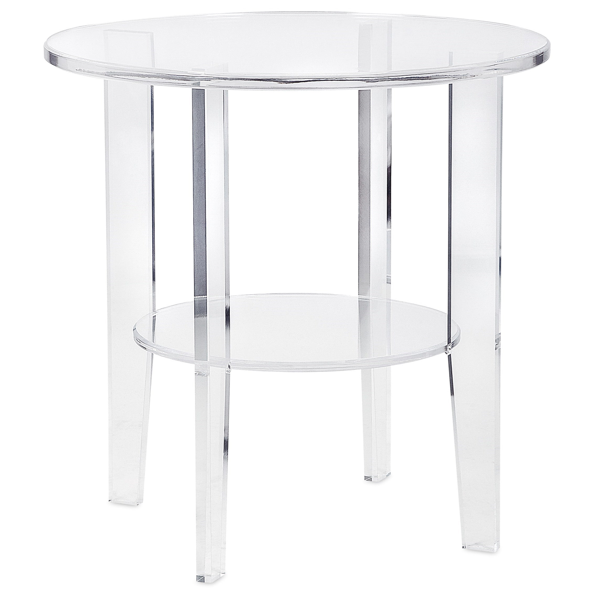 Estelle Acrylic Accent Table