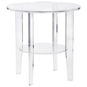 IMAX Worldwide Home Accent Tables and Cabinets Estelle Acrylic Accent Table