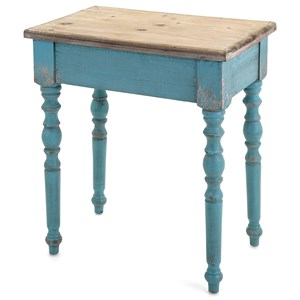IMAX Worldwide Home Accent Tables and Cabinets Claremore Wooden Accent Table