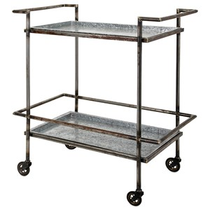 IMAX Worldwide Home Accent Tables and Cabinets Percy Bar Cart