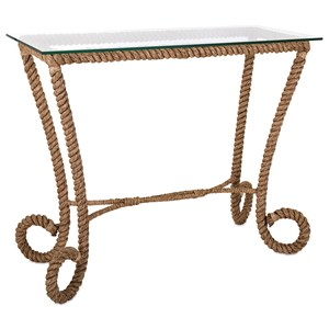 IMAX Worldwide Home Accent Tables and Cabinets Tranquil Jute Console Table