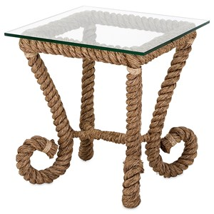 IMAX Worldwide Home Accent Tables and Cabinets Tranquil Jute Accent Table