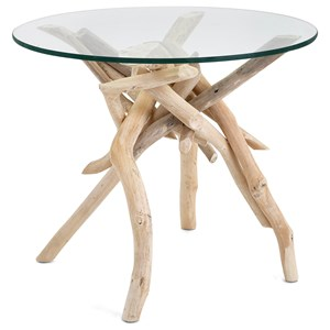 IMAX Worldwide Home Accent Tables and Cabinets Driftwood Accent Table