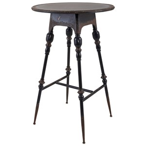 IMAX Worldwide Home Accent Tables and Cabinets Crestly Metal Bar Table