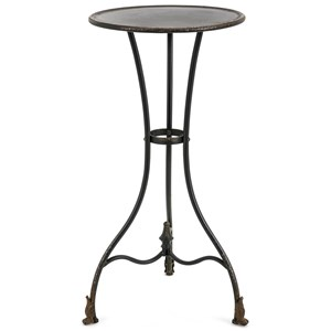 IMAX Worldwide Home Accent Tables and Cabinets Cliffton Large Metal Accent Table