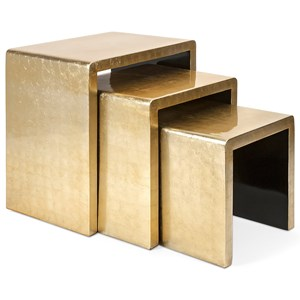 IMAX Worldwide Home Accent Tables and Cabinets Elaine Tables - Set of 3