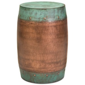 IMAX Worldwide Home Accent Tables and Cabinets Rania Copper Plated Stool