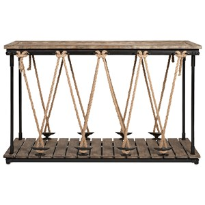 IMAX Worldwide Home Accent Tables and Cabinets Astern Rope Console