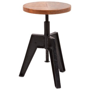 IMAX Worldwide Home Accent Tables and Cabinets Adjustable Seat Stool