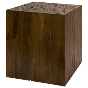 IMAX Worldwide Home Accent Tables and Cabinets Zatana Teakwood Side Table