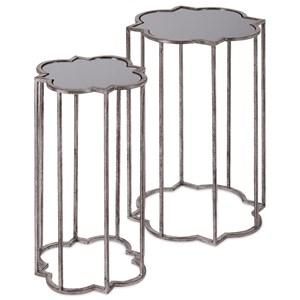 Acworth Silver Leaf Tables - Set of 2