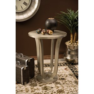 IMAX Worldwide Home Accent Tables and Cabinets Jensen Aluminum Clad Table