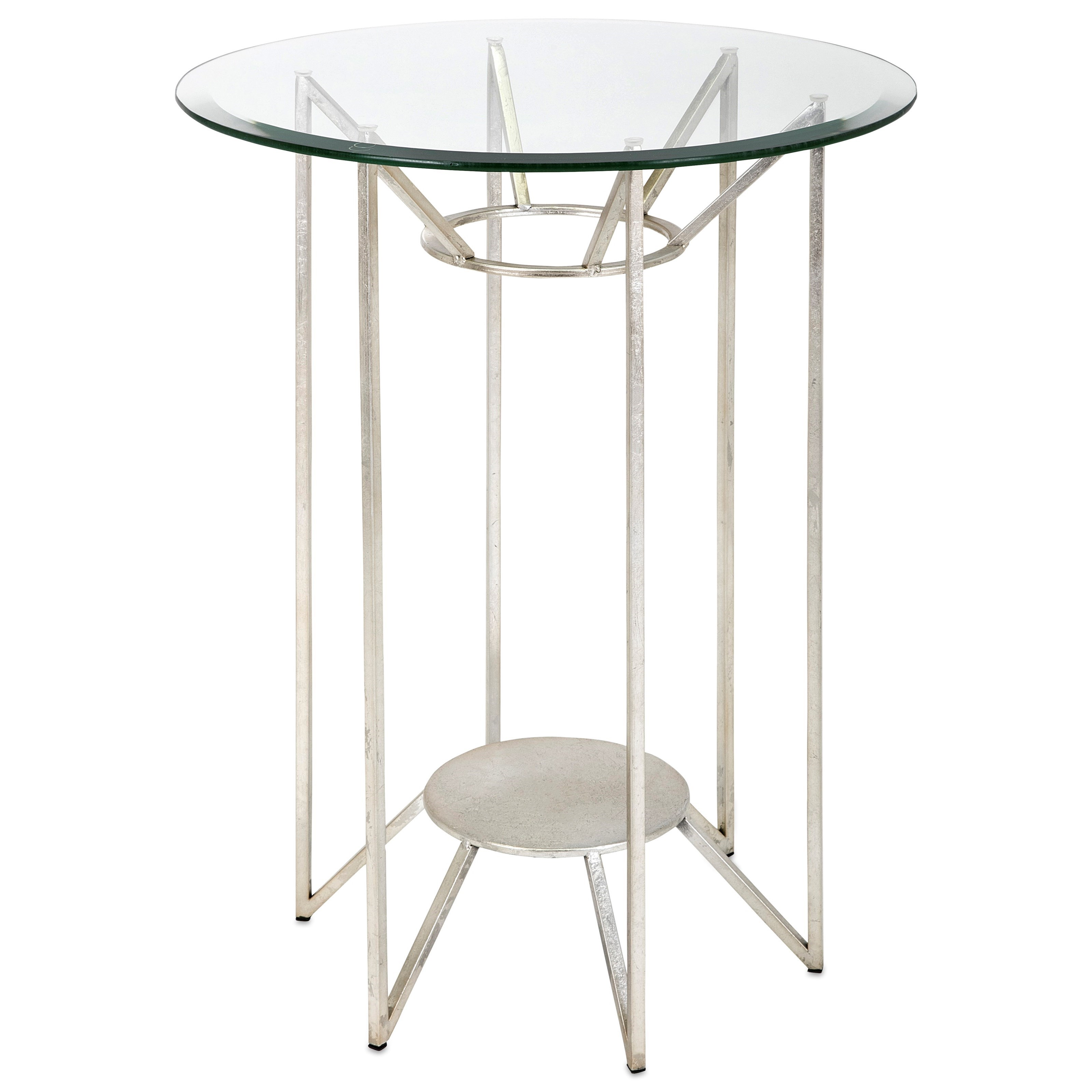 Solei Metal and Glass Table