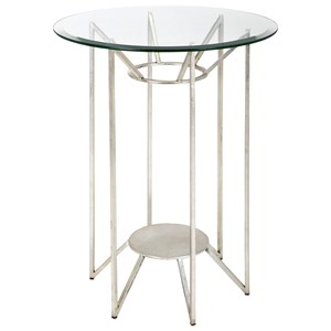 IMAX Worldwide Home Accent Tables and Cabinets Solei Metal and Glass Table