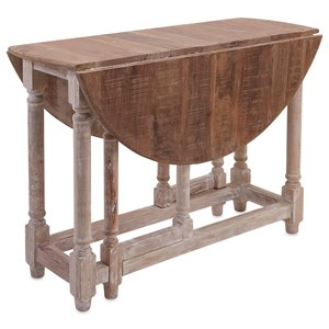 IMAX Worldwide Home Accent Tables and Cabinets Kinsey Drop Leaf Table