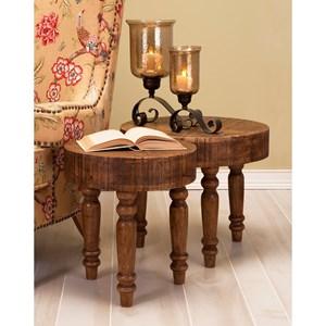 Hancock Wood Tables - Set of 2
