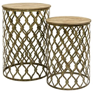 IMAX Worldwide Home Accent Tables and Cabinets Maridell Nesting Tables - Set of 2