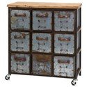 IMAX Worldwide Home Accent Tables and Cabinets Holloway 9-Drawer Cabinet - Item Number: 89111