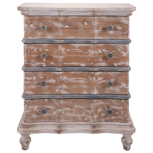 IMAX Worldwide Home Accent Tables and Cabinets Tansey 4-Drawer Cabinet