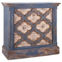 IMAX Worldwide Home Accent Tables and Cabinets Lyndsey Blue Wood Chest of Drawers - Item Number: 89383
