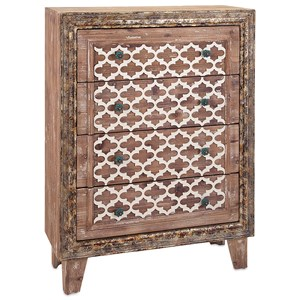 IMAX Worldwide Home Accent Tables and Cabinets Lisha Wood Chest of Drawers