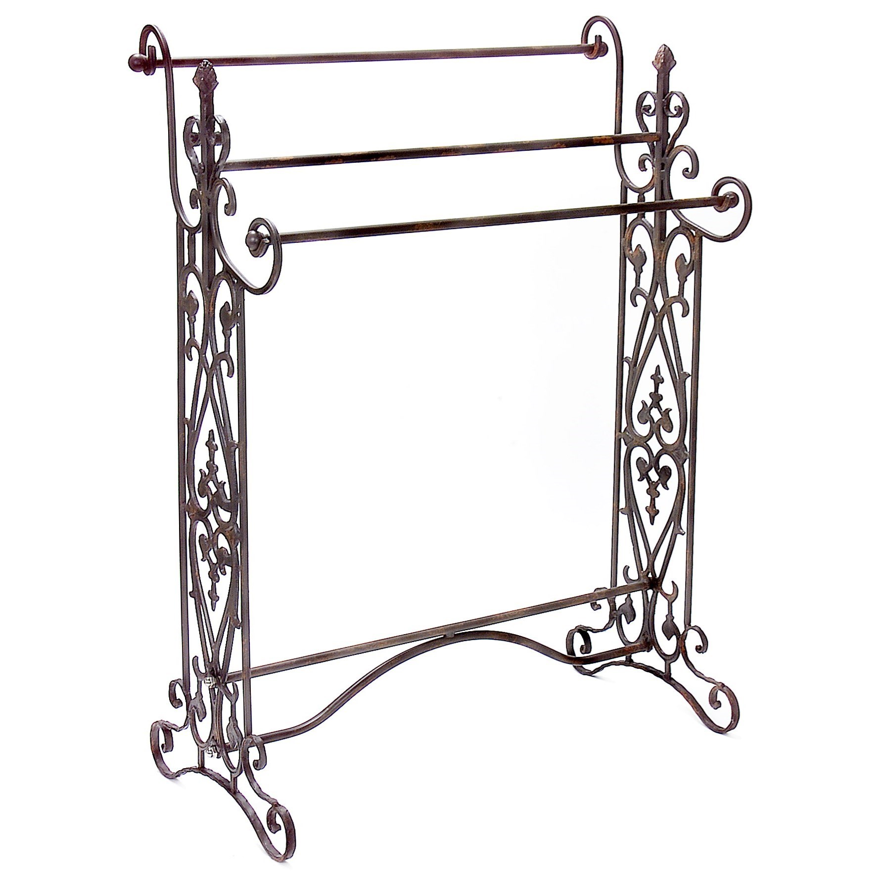 Accessories Quilt/Towel Rack by IMAX Worldwide Home at Alison Craig Home Furnishings