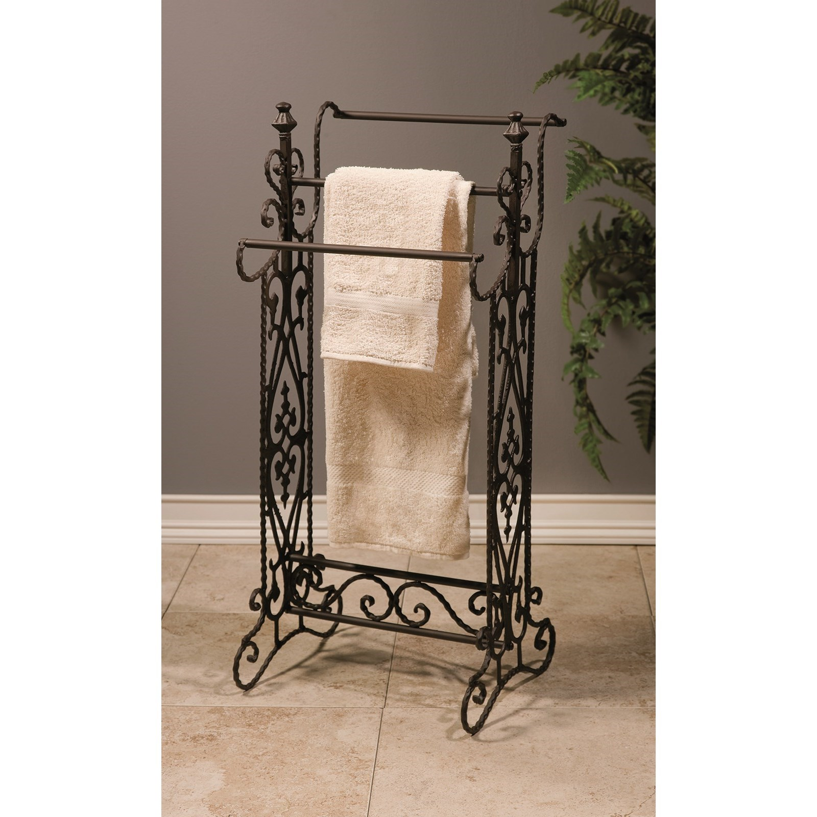 Accessories Narrow Quilt Rack by IMAX Worldwide Home at Alison Craig Home Furnishings