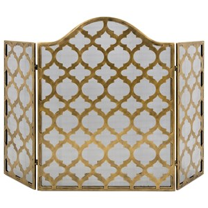 IMAX Worldwide Home Accessories Thomas Metal Fire Screen