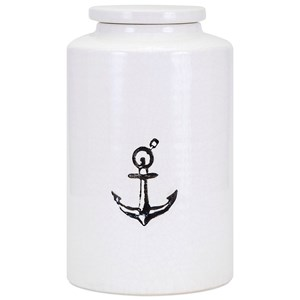 IMAX Worldwide Home Bottles, Jars, and Canisters Nautical Medium Container