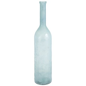 IMAX Worldwide Home Bottles, Jars, and Canisters Sandor Oversized Recycled Glass Bottle