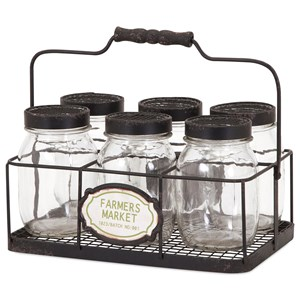 IMAX Worldwide Home Bottles, Jars, and Canisters Canning Glass Jars