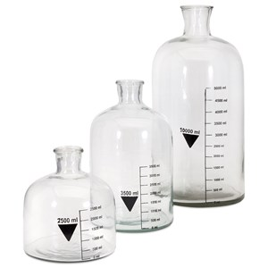 IMAX Worldwide Home Bottles, Jars, and Canisters Chemistry Bottles - Set of 3
