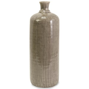 IMAX Worldwide Home Bottles, Jars, and Canisters Kempton Large Grey Jar