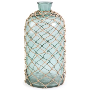 IMAX Worldwide Home Bottles, Jars, and Canisters Cornell Large Jug with Rope