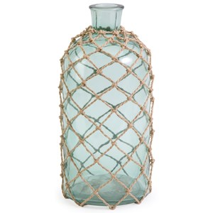 IMAX Worldwide Home Bottles, Jars, and Canisters Cornell Medium Jug with Rope