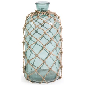 IMAX Worldwide Home Bottles, Jars, and Canisters Cornell Small Jug with Rope