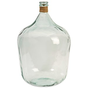 IMAX Worldwide Home Bottles, Jars, and Canisters Boccioni Large Recycled Glass Jug