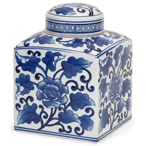 IMAX Worldwide Home Bottles, Jars, and Canisters Tollmache Large Lidded Jar