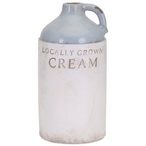 IMAX Worldwide Home Bottles, Jars, and Canisters Grain Small Milk Jug