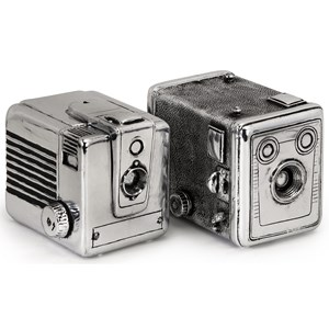 IMAX Worldwide Home Boxes, Bowls, and Balls Vintage Camera Boxes - Set of 2