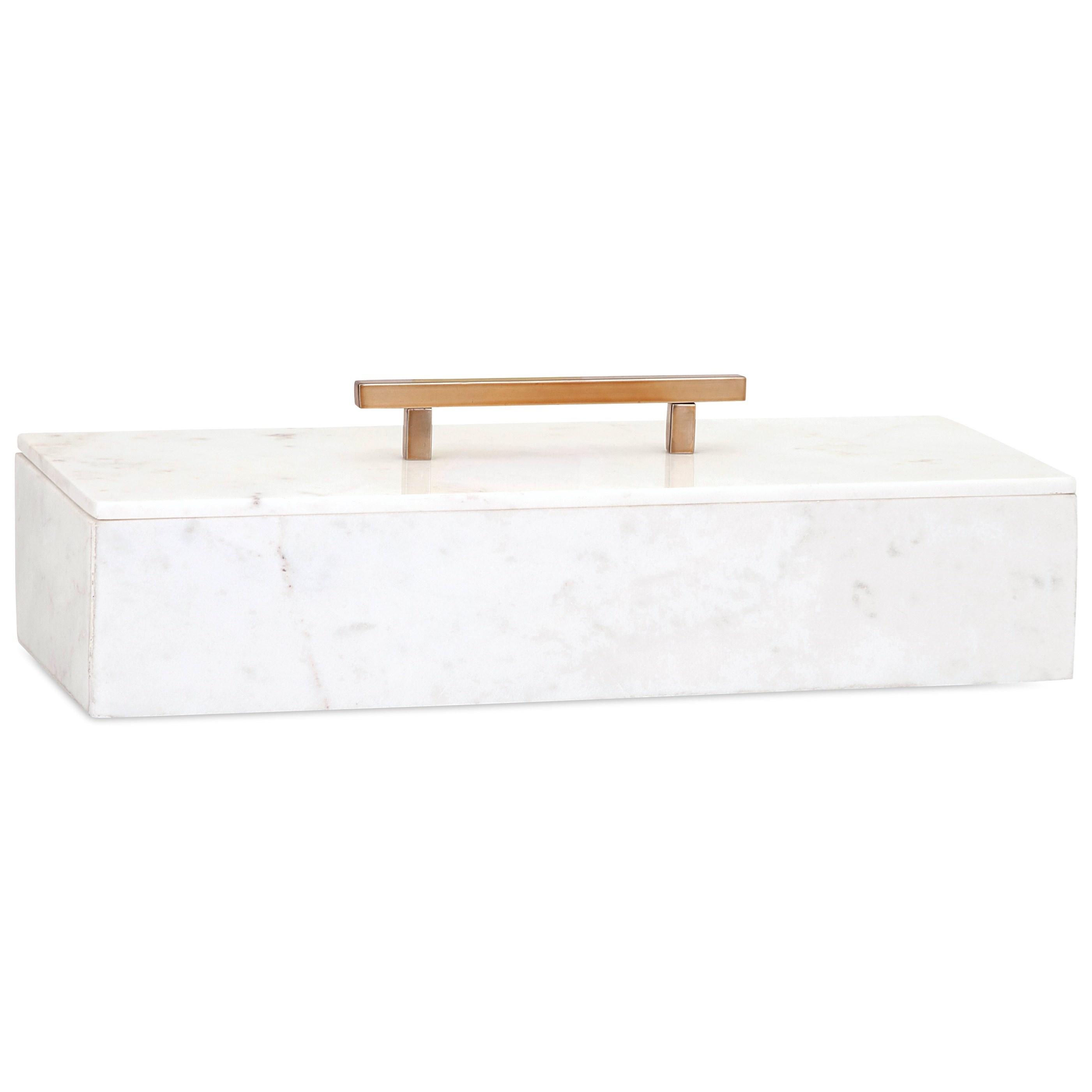 Keely Marble Lidded Box